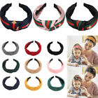 10 Pieces Wide Headbands Knot Turban Hair Band Elastic Accessories For Women