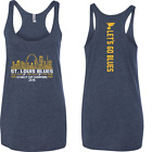 St. Louis Blues Stanley Cup Champs Skyline Ladies Tri-blend Racerback Tank $20.0 USD on eBay