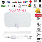 960 Mile Range TV Digital Antenna With Amplifier HD 1080P HDTV 4K Skywire Indoor