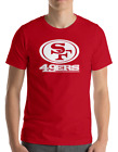 SAN FRANCISCO 49ERS RED T-Shirt WHITE Graphic Cotton Adult Logo S-3XL $29.8 USD on eBay