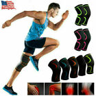 2pcs Knee Sleeve Compression Brace Patella Support Joint Arthritis Pain Relief