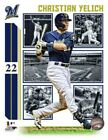 Christian Yelich Milwaukee Brewers MLB Composite Photo WQ190 (Select Size) on Ebay