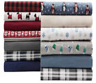 Winter Nights Flannel Sheet Set (Assorted Sizes) New Item Free Shipping image