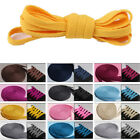 Flat Round Shoelaces Shoe Laces Shoe Strings Bootlace Athletic Colorful Coloured