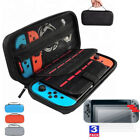 Travel Carry Case Cover Pouch Bag &3x Clear Screen Protector For Nintendo Switch