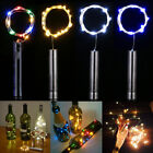 Led Wine Bottle Cork Christams String Lights 1/3/6 Pack Party Wedding Home Decor