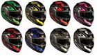 Zoan Adult Optimus Eclipse Snowmobile Modular Helmet All Colors XS-3XL