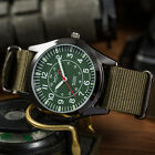 INFANTRY Mens Quartz Wrist Watch Analog Luminous Hands Military Army Sport Nylon image