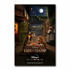 W260 Lady And The Tramp Movie Art Silk Poster Canvas Print custom 24x36 12x18