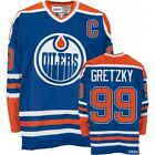Wayne Gretzky #99 Edmonton Oilers Blue & Orange Classic Throwback Hockey Jersey $65.0 USD on eBay