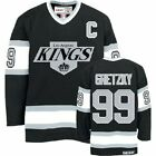 Wayne Gretzky #99 Los Angeles Kings Black White Classic Throwback Hockey Jersey $65.0 USD on eBay