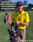 Athalonz EnVe Golf Shoes Choose Size&Color Black/Steel Grey or White/Tan - NEW!