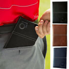 Premium Golf ScoreCard Holder Leather PU 3 Colors Book Yardage Cover Score
