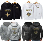 New Orleans Saints Hoodie Football Hooded Sweatshirt Fleece Jacket Gift for Fans $31.33 CAD on eBay