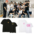 Kpop  SEVENTEEN T-shirt WORLD TOUR ODE TO YOU Concert Same Style Short sleeve
