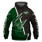2019 New York Jets Football Team Hoodie Hooded Sweatshirt Jacket gift for fan $29.44 USD on eBay