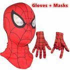 Spiderman mask Gloves Cosplay Children And Adult Cosplay Avengers Halloween