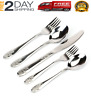 Stainless Steel Flatware Service For,8 Dinning Home Table Silverware Set 40 Pac