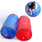 25x50cm Small Easy Clean Play Cute Rest With Balls Pet Tunnel Polyester Foldable