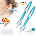 Ear Wax Cleaner Smart Removal Soft Spiral Swab Earwax Remover Tool Safe Ear pick