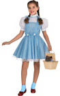 Girls Age 3 - 10 Years Official Dorothy Wizard Of Oz Fancy Dress Costume