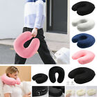 US Memory Foam U Shaped Travel Pillow Neck Support Head Rest Cushion Pillow K