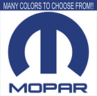 MOPAR VINYL DECAL PICK ANY COLOR AND SIZE $5.59 USD on eBay
