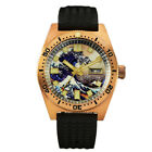 Men's Bronze SBBN015 diving watches Fashion Automatic Wrist watch 30ATM NH35 New image