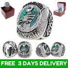 FROM USA- PHILADELPHIA EAGLES Official FOLES & WENTZ Ring 2017 2018 Championship $29.45 USD on eBay