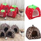 Pet House Igloo Soft Warm Padded Washable Winter Bed Small Dog Cat Basket Kennel
