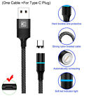 CAFELE 3A LED Magnetic Lightning Cable/Micro/Type C to USB Charging Charger Cord