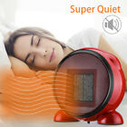 Personal Mini Space Heater Fan Portable Electric Home Office Indoor Use Ceramic