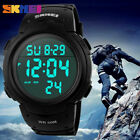 SKMEI Men's Fashion Quartz Military Digital Sports Waterproof Tactical Watch US image