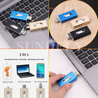 32GB 64GB USB Flash Drive Photo Memory Stick Expansion OTG For iPhone IOS PC