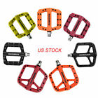 Outdoor Mountain Bike Pedals Widen Nylon Fiber Bicycle Bearing Platform Pedals