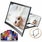 Universal Mobile Phone Screen 3D Amplifier Video Magnifier Bracket Stand Folding