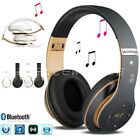 Wireless Bluetooth Kids Over-Ear Headphones Earphones for iPad/Tablet/Phones TY