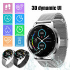 Waterproof Bluetooth Smart Watch GPS Activity Tracker Heart Rate For iOS Android