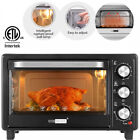VIVOHOME 6 Slice Toaster Oven Convection Broiler Baker Pizza Cook Relations Size
