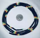 "40""-42"" Elegant Tie On African Waist Beads Belly Chain Jewelr multicolor Variety"