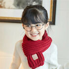 Boy Girl Baby Winter Warm Color Scarf Knitting Wool Children Neck Warmer S