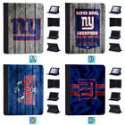 New York Giants Leather Case For iPad Mini 1 2 3 4 Pro 9.7 10.5 Air 5 6 $19.99 USD on eBay