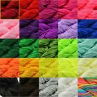 48m Nylon Cord Thread Chinese Knot Macrame Rattail Braided Bracelet String 0.8mm