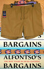 New Mens Chaps Comfort Elastic Waistband Tie Close Shorts 14.99 Free Shipping