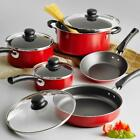 Cookware Set 9-Piece Pots and Pans Kitchen Nonstick Stainless Steel Cooking,Chef