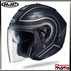 CASCO JET OPEN FACE DOPPIA VISIERA HJC IS-33 II APUS MC5SF