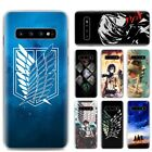 Anime Attack On Titan Girl HP Case For Samsung Galaxy S10e S10 Plus M30 A50 A70 $3.6 USD on eBay