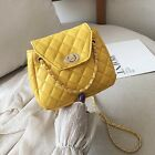 Women Quilted Chain Bag Leather Shoulder Bag Crossbody Messenger Handbag