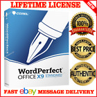 Corel WordPerfect Office X9 Standard License Product Key / 30 SECs Delivery