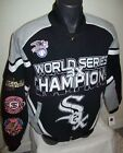 CHICAGO WHITE SOX Ultimate 3 Time WORLD SERIES CHAMP Cotton Jacket  XL 2X on Ebay